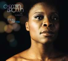 Carmen Brown: It's All For You, CD