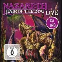 Nazareth: Hair Of The Dog Live (CD + DVD), 1 CD und 1 DVD