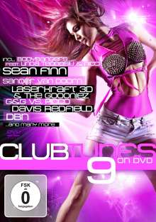 Clubtunes On DVD 9, DVD