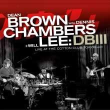 Dean Brown (geb. 1955): DB III (180g) (LP + CD), 2 LPs