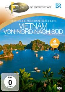 Vietnam: Von Nord nach Süd, 4 DVDs