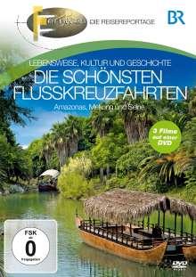 Die schönsten Flusskreuzfahrt (Amazonas, Mekong & Seine), DVD