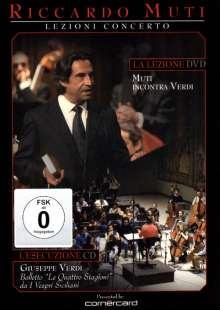 Riccardo Muti probt, 2 DVDs