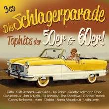 Die Schlagerparade: Tophits der 50er & 60er!, 3 CDs