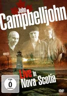 John Campbelljohn: Live In Nova Scotia, DVD