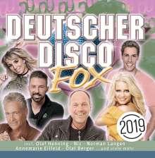 Deutscher Disco Fox 2019, 2 CDs
