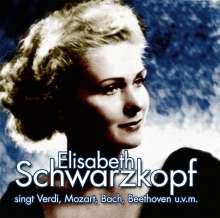 Elisabeth Schwarzkopf: Singt Lieder Und Arien, CD
