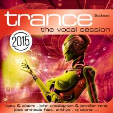 Trance: The Vocal Session 2015, 2 CDs