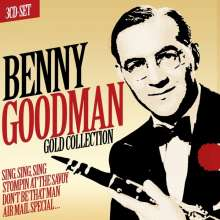 Benny Goodman (1909-1986): Gold Collection, 3 CDs