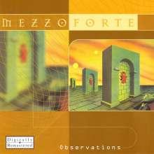 Mezzoforte: Observations, CD