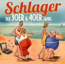 Schlager der 30er & 40er Jahre, 2 CDs