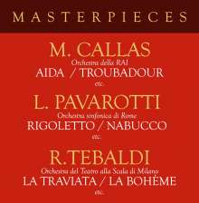 Masterpieces, 4 CDs