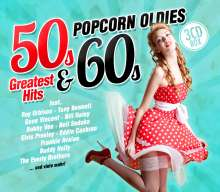 Popcorn Oldies: 50s & 60s Greatest Hits, 3 CDs