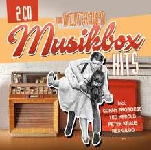 Die deutschen Musikbox Hits, 2 CDs