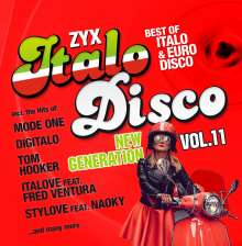 ZYX Italo Disco New Generation Vol.11, 2 CDs