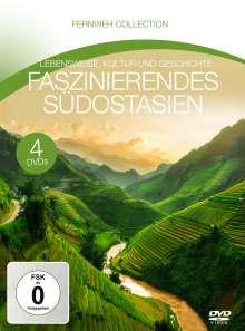 Faszinierendes Südostasien (Fernweh Collection), 4 DVDs