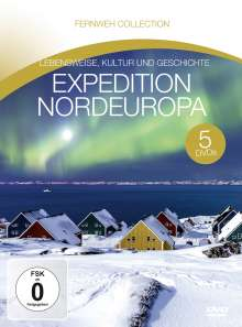 Expedition Nordeuropa (Fernweh Collection), 5 DVDs