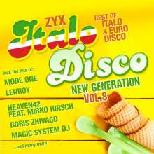 ZYX Italo Disco New Generation Vol.8, 2 CDs