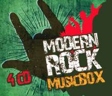 Modern Rock Music Box, 4 CDs