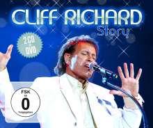 Cliff Richard: Cliff Richard Story, 2 CDs und 1 DVD