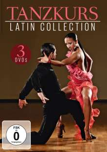 Tanzkurs - Latin Collection, 3 DVDs