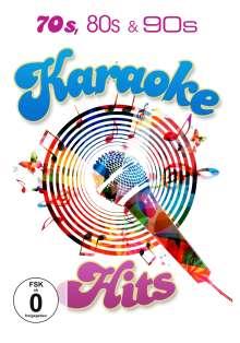 70s,80s & 90s Karaoke Hits, 3 DVDs
