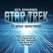 Filmmusik: 50th Anniversary Star Trek - TV Series Soundtracks, CD