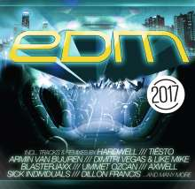 EDM 2017, 2 CDs