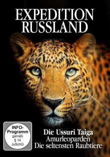 Expedition Russland: Die Assuri Taiga - Amurleoparden: Die seltensten Raubtiere, DVD