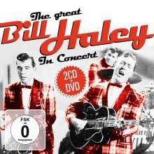 Bill Haley: The Great Bill Haley In Concert (2 CD + DVD), 2 CDs