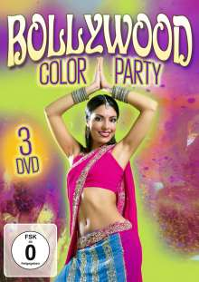 Bollywood Color Party, 3 DVDs