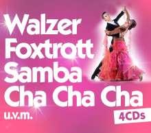 Walzer, Foxtrott, Samba, Cha Cha Cha, 4 CDs