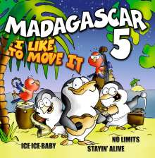 Madagascar 5: I Like To Move It, CD