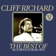 Cliff Richard: The Best Of Cliff Richard: Blue Moon & More Hits, 3 CDs