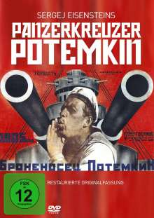 Panzerkreuzer Potemkin (OmU), DVD