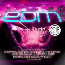 EDM 2018, 2 CDs