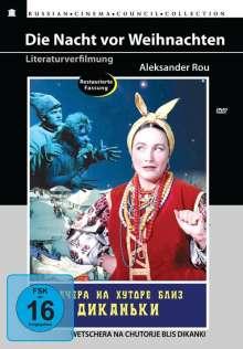 Die Nacht vor Weihnachten (OmU), DVD