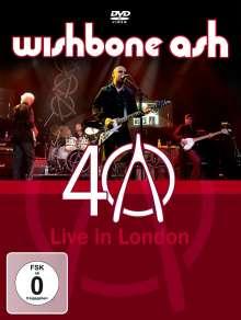 Wishbone Ash: 40th Anniversary Concert: Live In London 2009, DVD