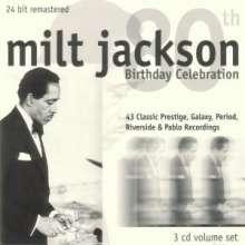 Milt Jackson (1923-1999): 80th Birthday Celebration, 3 CDs