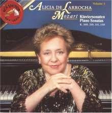 Alicia de Larrocha: Mozart:Sonatas Vol 3, CD