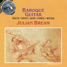 Julian Bream - Baroque Guitar, CD