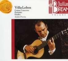 Heitor Villa-Lobos (1887-1959): Konzert f.Gitarre & kleines Orchester, CD