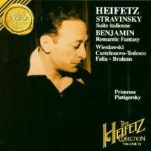 Arthur Benjamin (1893-1960): Romantic Fantasy für Violine,Viola & Orchester, CD