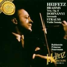 Ernst von Dohnanyi (1877-1960): Serenade für Streichtrio op.10, CD