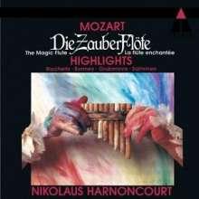 Wolfgang Amadeus Mozart (1756-1791): Die Zauberflöte (Ausz.), CD