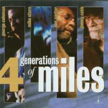 George Coleman, Mike Stern, Ron Carter & Jimmy Cobb: 4 Generations Of Miles, Super Audio CD