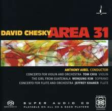 David Chesky (geb. 1956): Violinkonzert, Super Audio CD