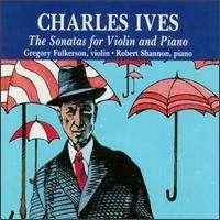 Charles Ives (1874-1954): Sonaten für Violine & Klavier Nr.1-4, 2 CDs