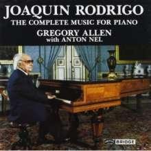 Joaquin Rodrigo (1901-1999): Klavierwerke (Ges.-Aufn.), 2 CDs