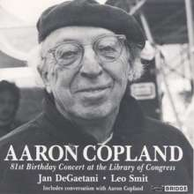 Aaron Copland (1900-1990): 12 Poems of Emily Dickinson, CD